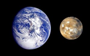 Mars and Mother Earth